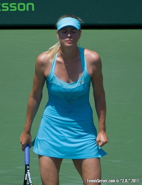 Maria Sharapova 2011 Sony Ericsson Open Tennis