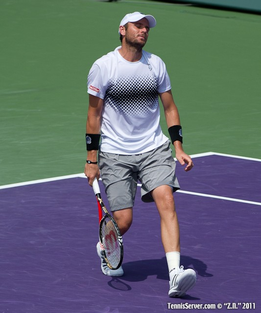 Mardy Fish 2011 Sony Ericsson Open Tennis