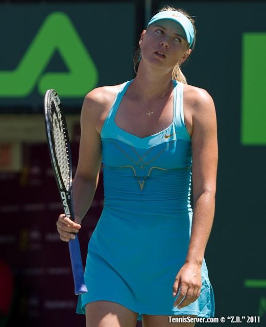 Maria Sharapova 2011 Sony Ericsson Open Tennis