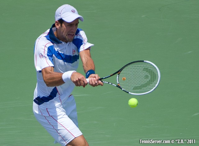 Novak Djokovic 2011 Sony Ericsson Open Tennis