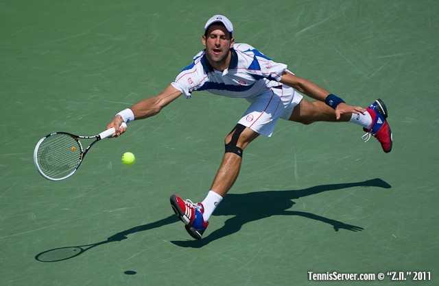 Novak Djokovic 2011 Sony Ericsson Open Tennis