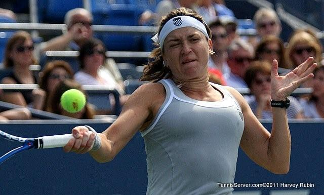 Alexandra Dulgheru 2011 US Open New York Tennis