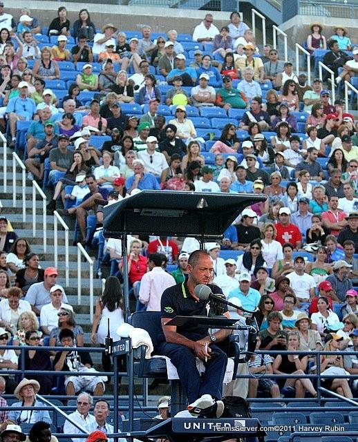 Chair Umpire 2011 US Open New York Tennis