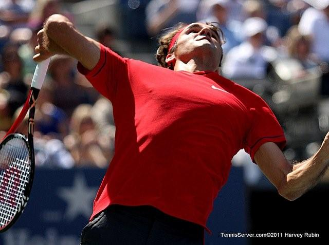 Roger Federer 2011 US Open New York Tennis
