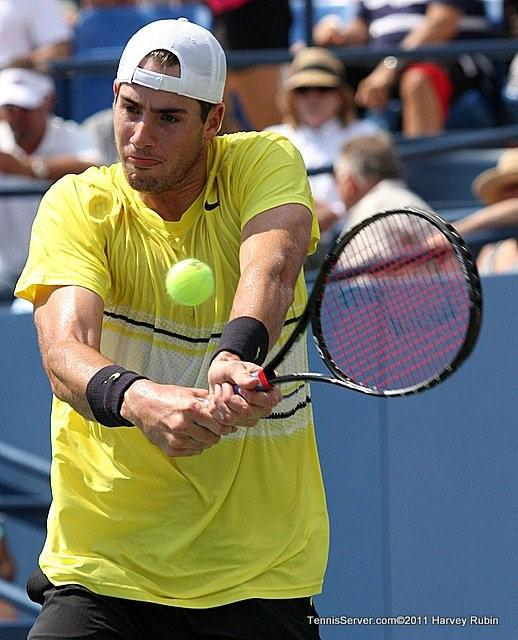John Isner 2011 US Open New York Tennis