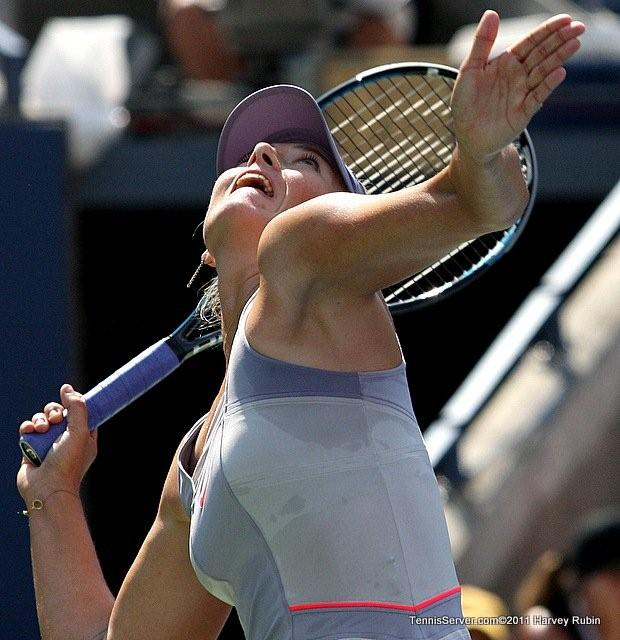 Maria Sharapova 2011 US Open New York Tennis