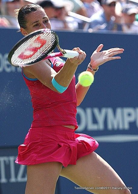 Flavia Pennetta 2011 US Open New York Tennis