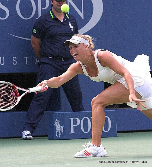 Caroline Wozniacki 2011 US Open New York Tennis