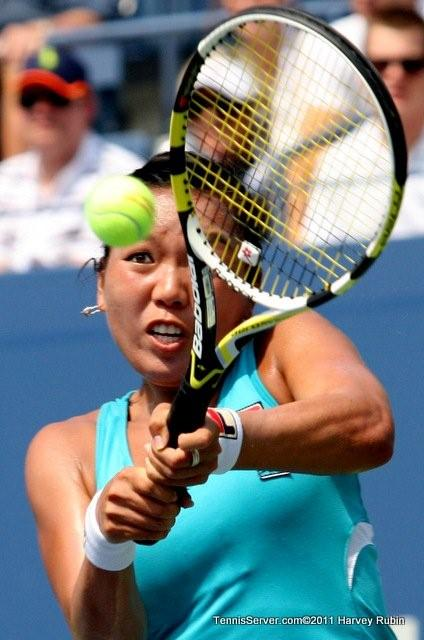 Vania King 2011 US Open New York Tennis