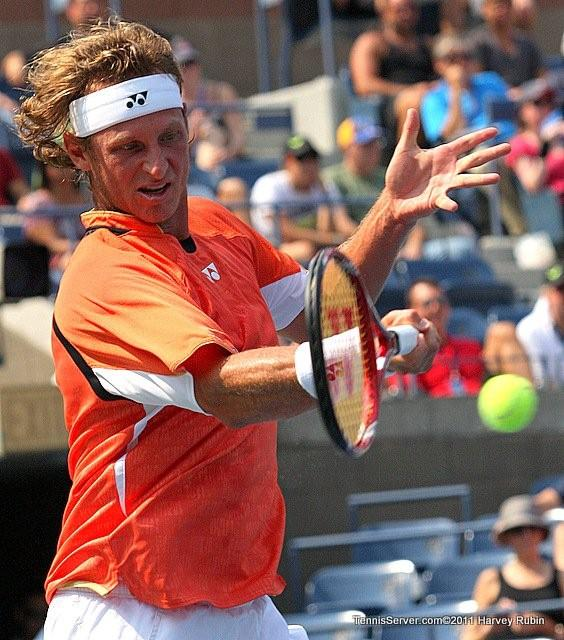 David Nalbandian 2011 US Open New York Tennis