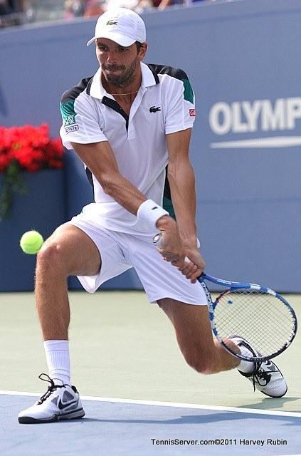 Julien Benneteau 2011 US Open New York Tennis