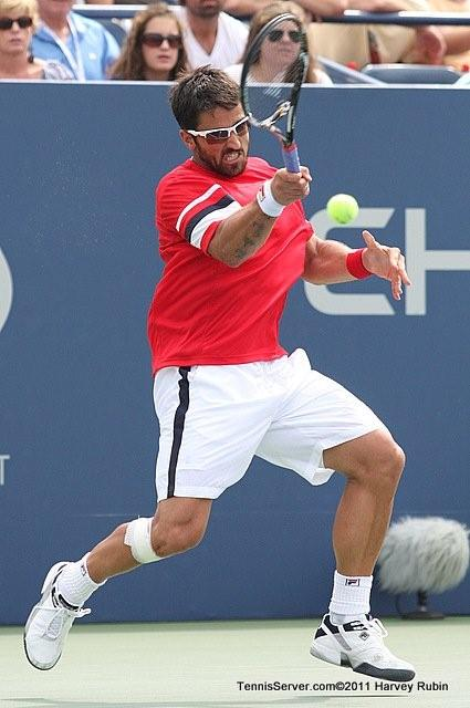 Janko Tipsarevic 2011 US Open New York Tennis