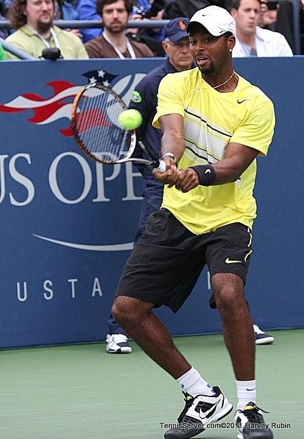Donald Young 2011 US Open New York Tennis
