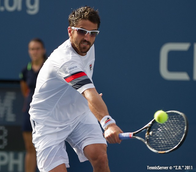 Janko Tisparevic 2011 US Open New York Tennis