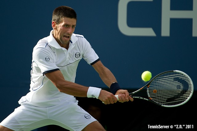 Novak Djokovic 2011 US Open New York Tennis