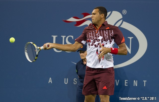 Jo-Wilfried Tsonga 2011 US Open New York Tennis