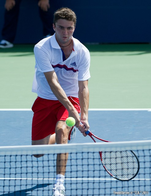 Gilles Simon 2011 US Open New York Tennis