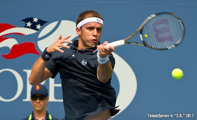 Gilles Muller 2011 US Open New York Tennis