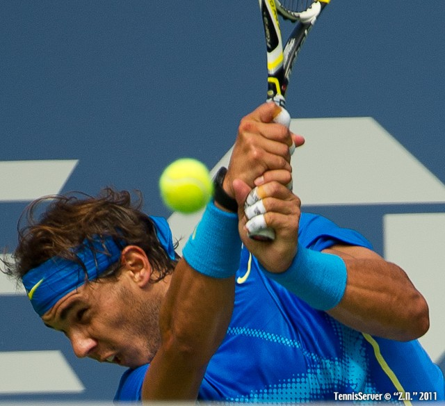 Rafael Nadal 2011 US Open New York Tennis