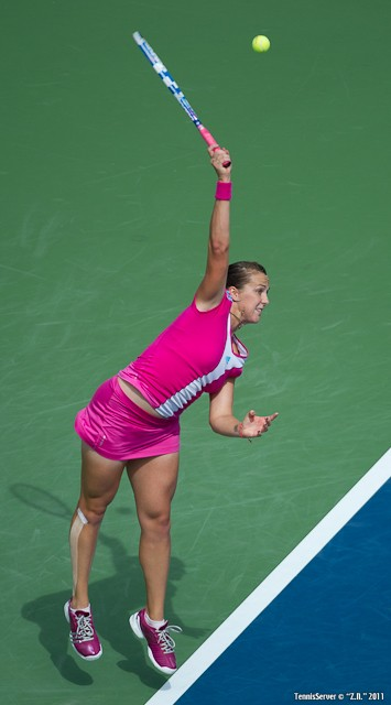 Anastasia Pavlyuchenkova 2011 US Open New York Tennis