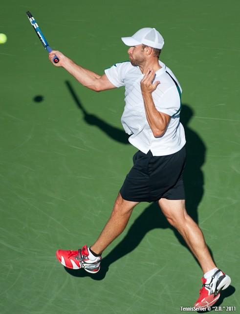 Andy Roddick 2011 US Open New York Tennis