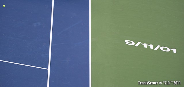 9/11/01 2011 US Open New York Tennis