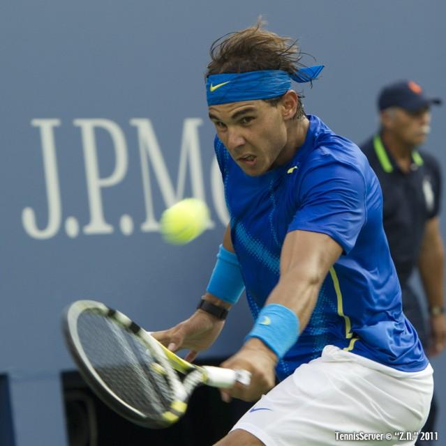 Rafael Nadal 2011 US Open New York Tennis