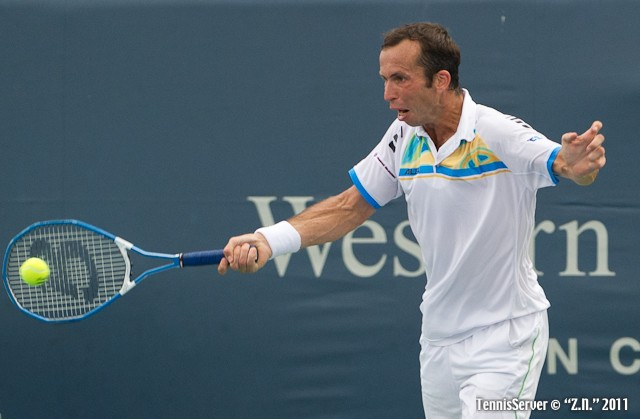 Radek Stepanek 2011 Western & Southern Open Tennis