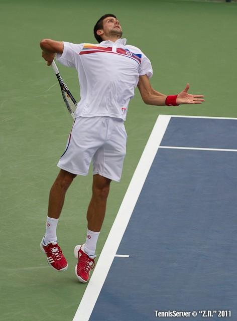 Novak Djokovic 2011 Western & Southern Open Tennis