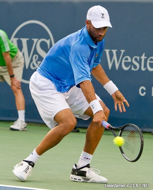 James Blake 2011 Western & Southern Open Tennis