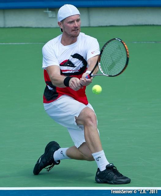 Alex Bogomolov Jr. 2011 Western & Southern Open Tennis