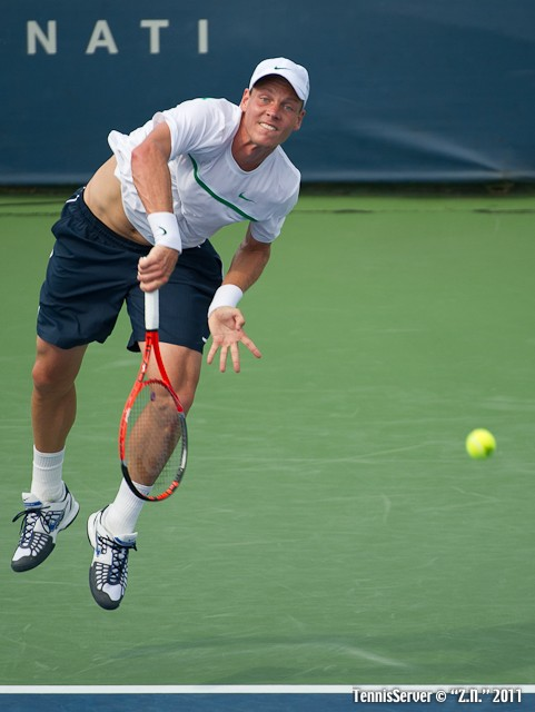 Tomas Berdych 2011 Western & Southern Open Tennis