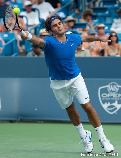 Roger Federer 2011 Western & Southern Open Tennis