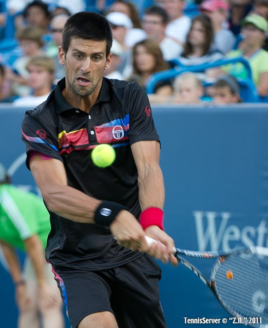 Novak Djokovic 2011 Western & Southern Open Tennis