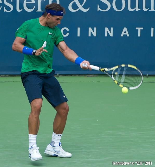 Rafael Nadal 2011 Western & Southern Open Tennis