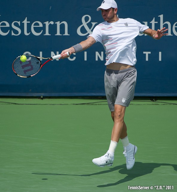Mardy Fish 2011 Western & Southern Open Tennis