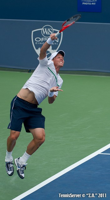 Tomas Berdych 2011 Western & Southern Open Tennis