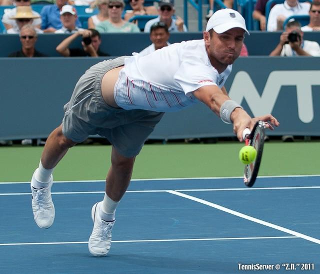 Mardy Fish 2011 Western & Southern Open Tennis