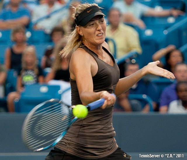 Maria Sharapova 2011 Western & Southern Open Tennis
