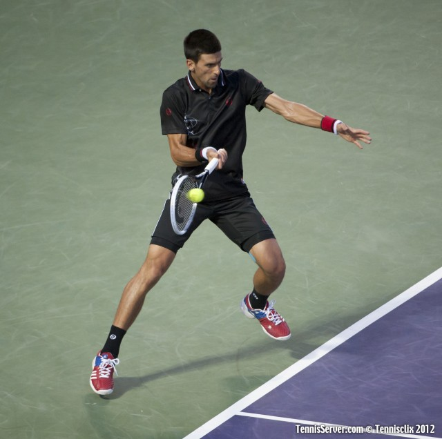 Novak Djokovic 2012 Sony Ericsson Open Tennis