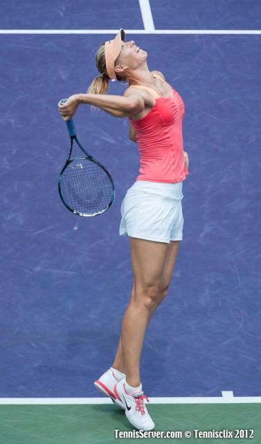 Maria Sharapova 2012 Sony Ericsson Open Tennis