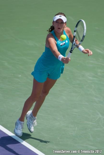 Agnieszka Radwanska 2012 Sony Ericsson Open Tennis