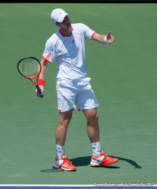 Andy Murray 2012 Sony Ericsson Open Final Tennis