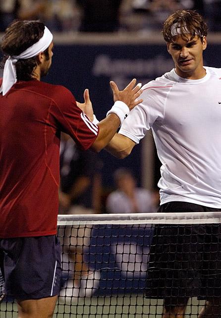 Tennis - Roger Federer - Fernando Gonzalez