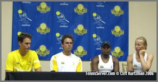 Tennis - Graydon Oliver - Jan-Michael Gambill - Ahsha Rolle - Bryanne Stewart