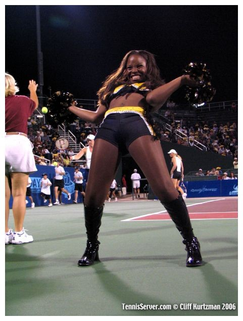 Tennis - Houston Wranglers Cheerleaders