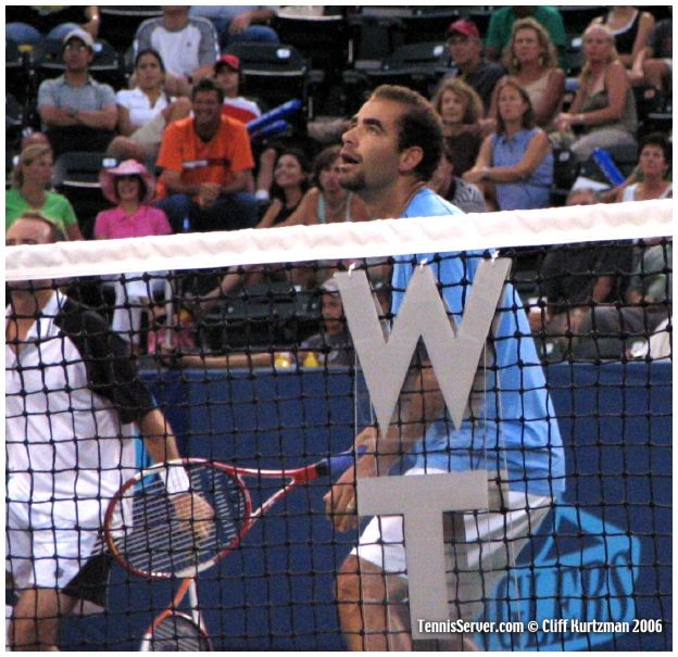 Tennis - Pete Sampras - Rick Leach