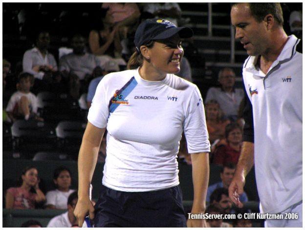 Tennis - Tina Krizan - Rick Leach