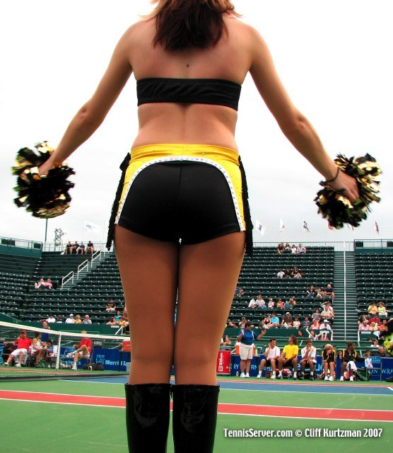 Tennis - Houston Wranglers Cheerleader
