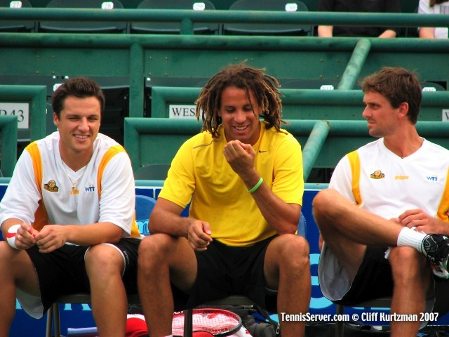 Tennis - Goran Dragicevic - Thomas Blake - Jan-Micael Gambill